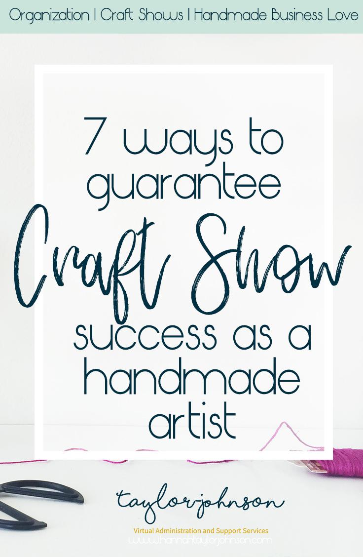 Pinterest: 7 ways to guarantee craft show success