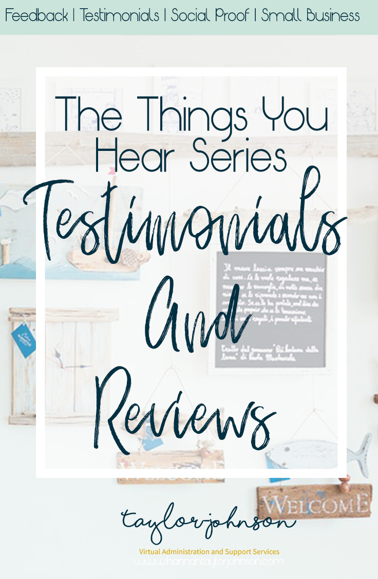 why do you need testimonials and reviews in a creative business?