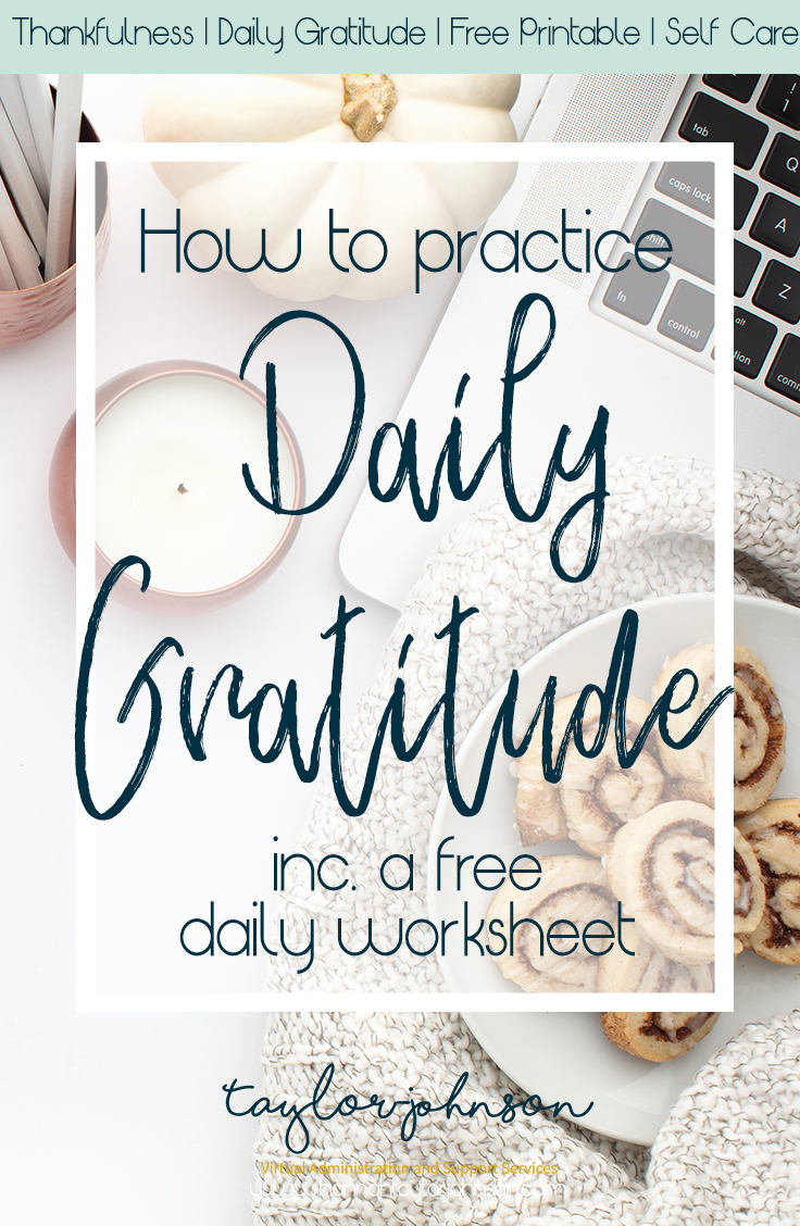 daily gratitude and free printable