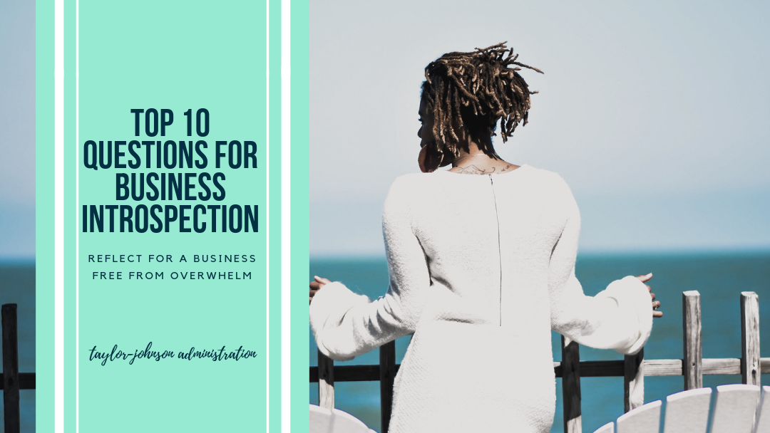 Top 10 Reflection Questions + Journaling Prompts for Business Reflection + Growth