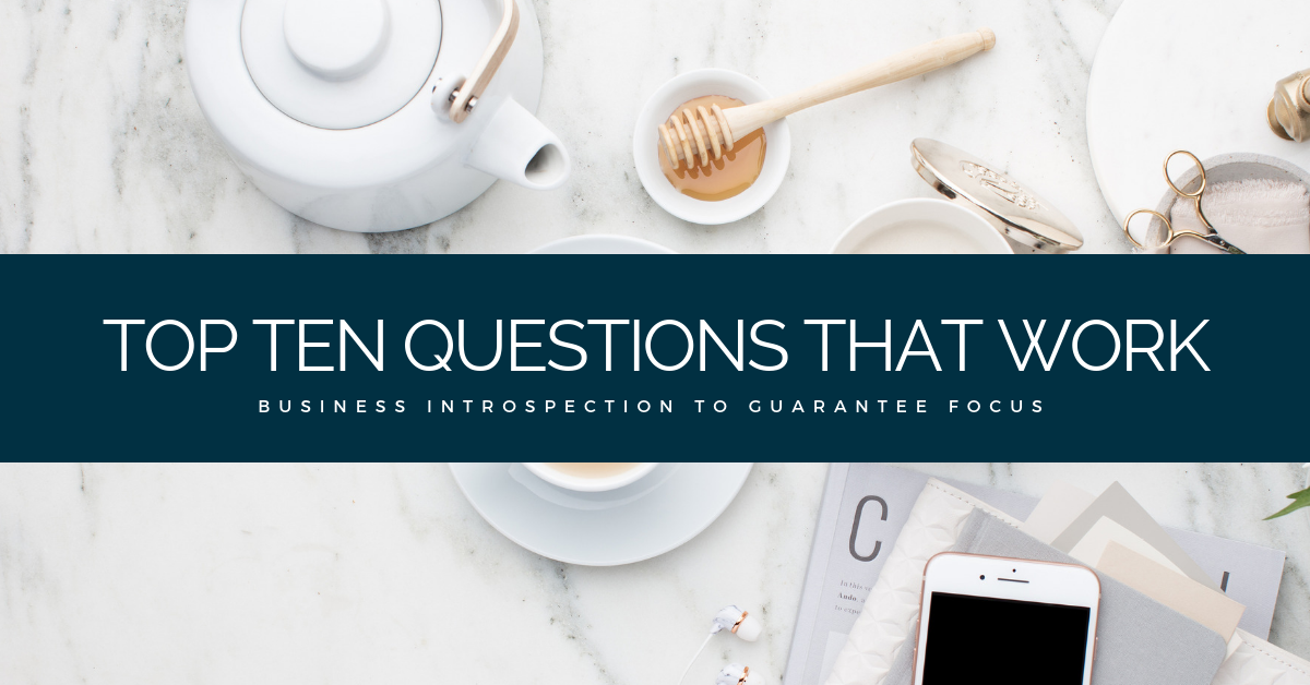 21 Questions to reflect on your business