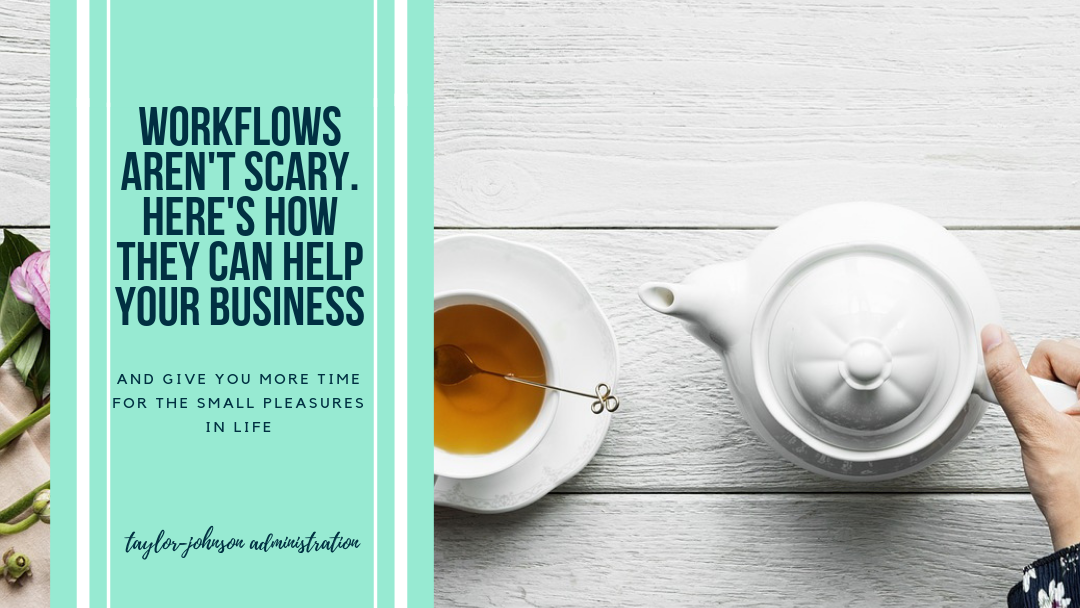 workflows aren't scary for your business and they'll help your business grow while giving you the time you need to enjoy life's simple pleasures